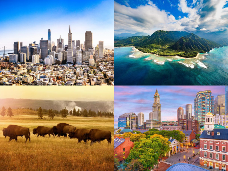 5 Reasons why you should Visit the US for your next Vacation